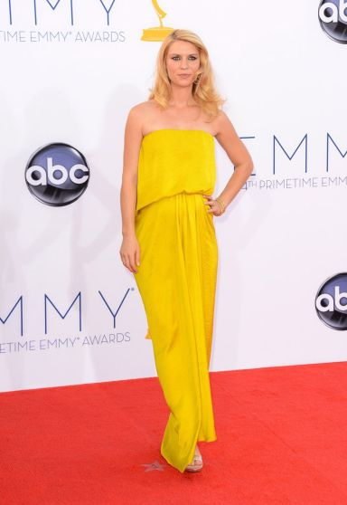 Claire Danes Emmy Awards Fashuun Village