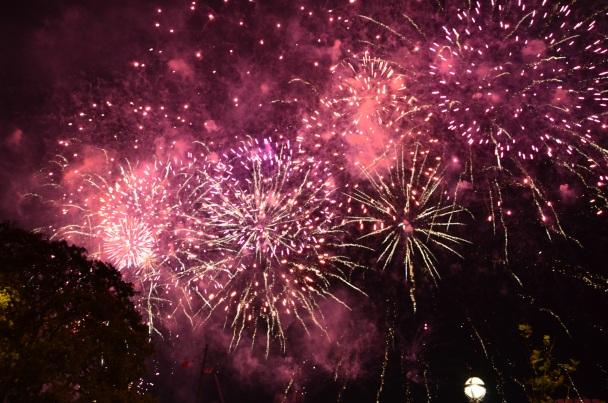 Mayor's Thames Festival Fireworks