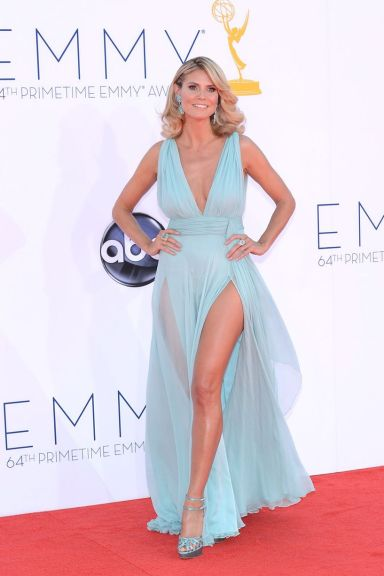 Heidi Klum Emmy Awards Fashuun Village