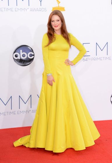 Julianne Moore Emmy Awards Fashuun Village