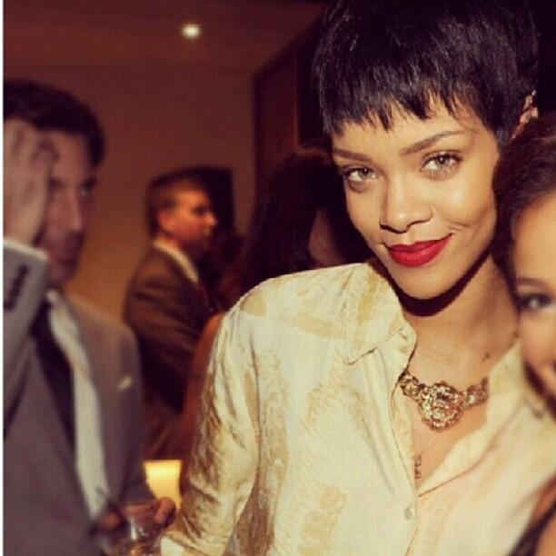 Rihanna Lion Necklace