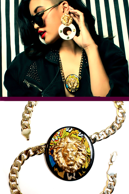 Gianni The Lion Versace Necklace
